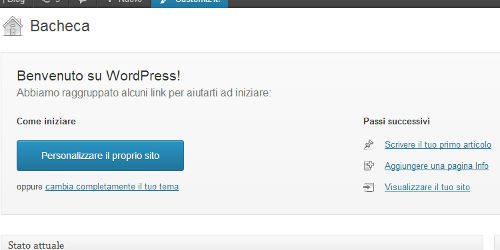 WordPress semplice